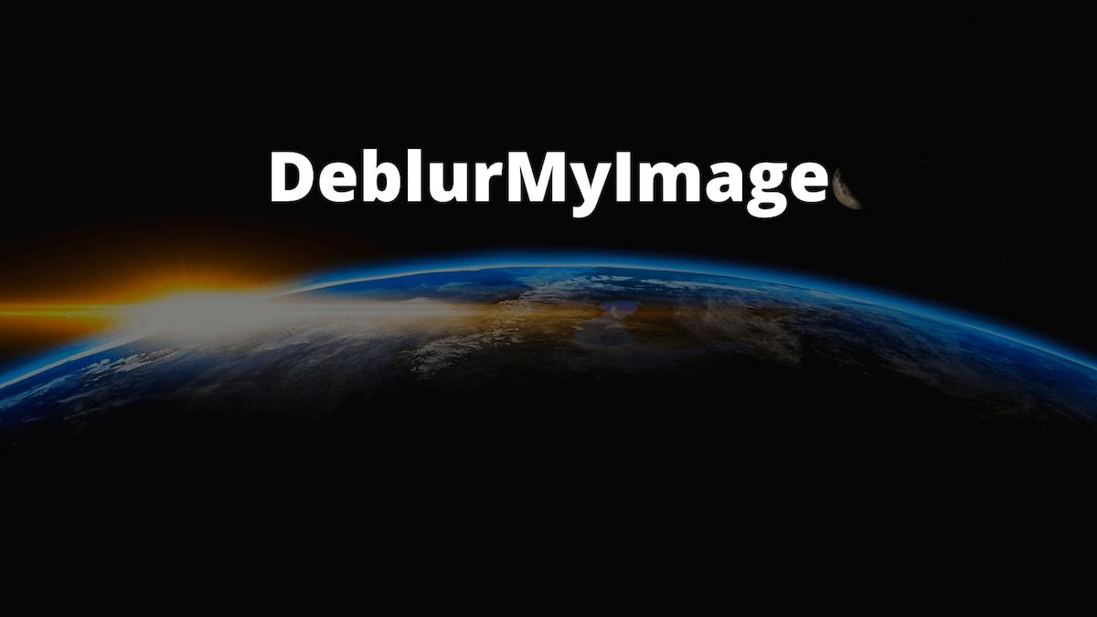 DeblurMyImage